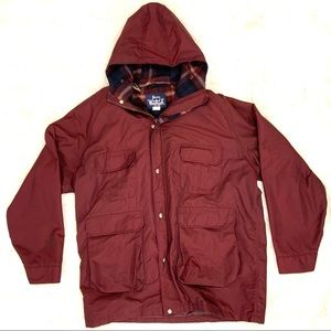 Woolrich Vintage Lined Hooded Mountain Parka Coat